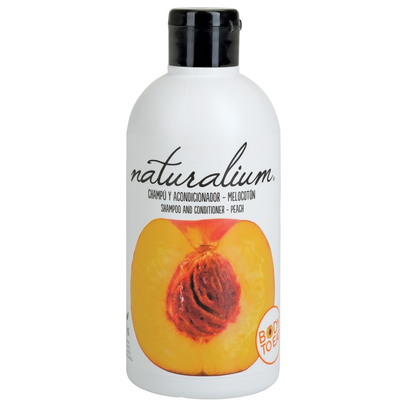 Naturalium Shampoo and contitioner - Peach 400ml