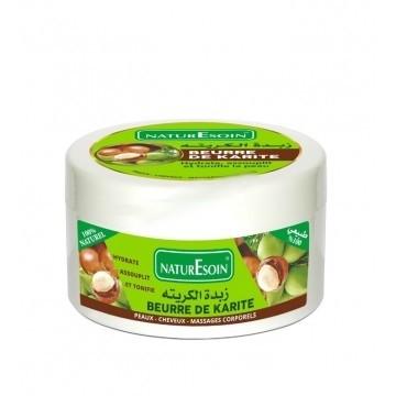 NaturEsoin Beurre de karité 100% naturel en pot de 150g