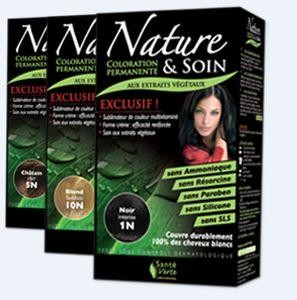 nature care coloration permanente aux extraits vgtaux - Coloration Cheveux Sans Ammoniaque