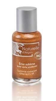 Naturelle d'argan Éclat Sublime huile sèche scintillante(50 ml)