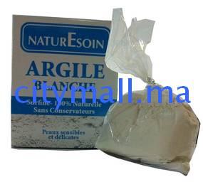 NaturEsoin Argile blanche 100% naturelle sans conservateurs