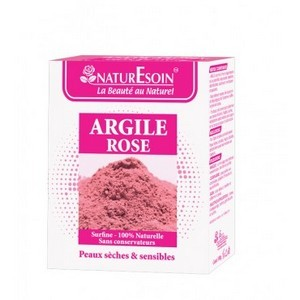 Nature soin Argile Rose 100G