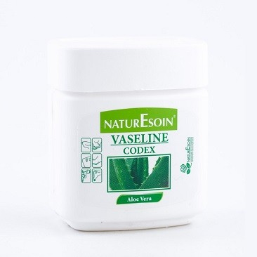 naturesoin vaseline codex aloe vera pot 120ml parapharmacie au maroc. Black Bedroom Furniture Sets. Home Design Ideas