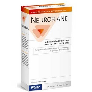 neurobiane équilibre nerveux et bien être 60 gélules