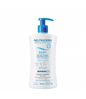 Neutraderm Baby Gel nettoyant douceur 3 en 1 (400ml)