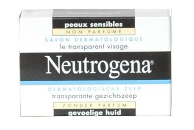 Neutrogena Savon Dermatologique le Transparent Visage