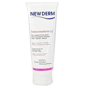 NEWDERM crème émolliente+ peau sèche à très sèche 250 ml