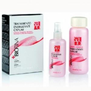 NIRVEL Biotina+ Pack Shampooing Energissant Capilaire 250 ml + 1 Lotion Energissante Capilaire 125 ml