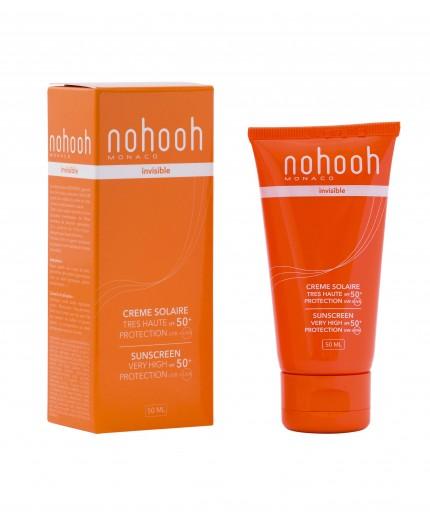 Nohooh creme solaire invisible spf50+ 50ml