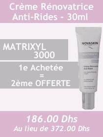 Offre - Novaskin Matrixyl 3000 crème renovatrice + 2eme OFFERTE