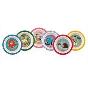 Nûby Collection BAMBOU : 2 Pièces Assiettes Creuses Réf : ID5501