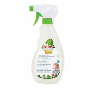 Nûby Spray antibactérien de Sterilisation surfaces et jouets pour Bébé 400ml Réf : CG40040