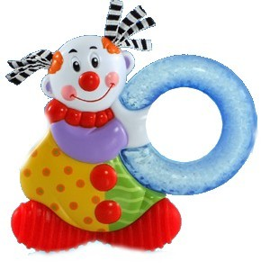 Nuby figure de dentition Clown réfrigirante ice Gel 6 mois+ ID452