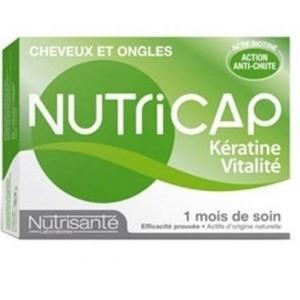 Nutrisanté Nutricap kératine vitalité 1 mois de soin