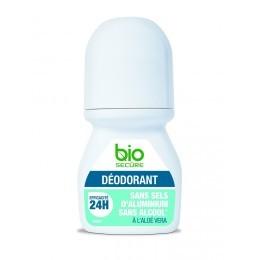 Bio secure deodorant bille, efficacite 24h sans sels d'aluminium a l'aloe vera 50ml