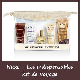 Kit de voyage Nuxe - Les indispensables