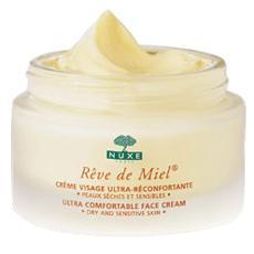 Nuxe rêve de miel crème visage ultra-réconfortante jour (50 ml)