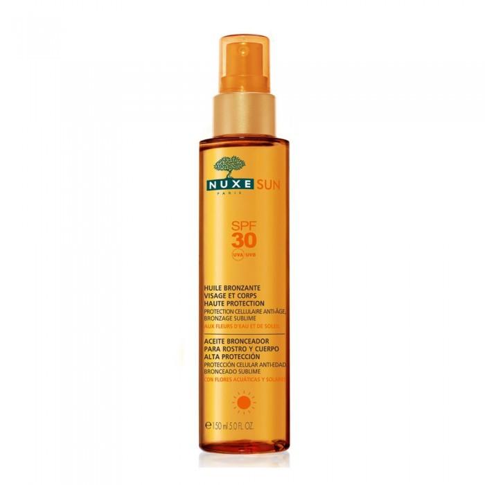 Nuxe Sun Huile Visage et Corps SPF 30 150 ml