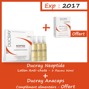 Offre Ducray Neoptide Lotion Antichute - Anacaps Complément alimentaire Offert