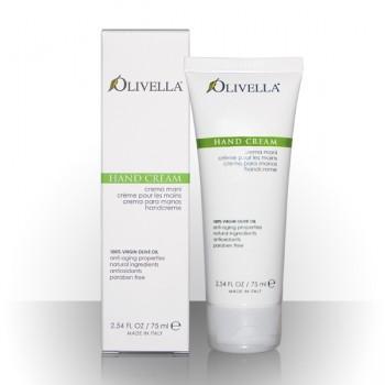 Olivella crème pour les mains 100% huile d'olive vierge (75 ml)
