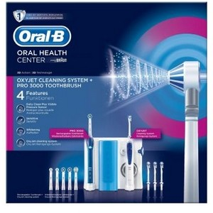 Combiné Dentaire Braun Oral-B Professional Care Oxyjet +3000 garantie 2 ans