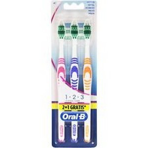 Oral-B 3 brosses à dents  delicate white 40 medium