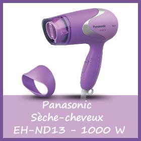 Offre Panasonic Sèche-cheveux EH-ND13 de 1000 W