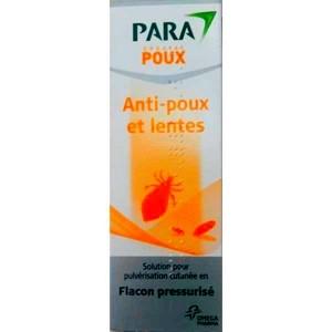 Para-poux spray anti-poux et lentes 125 ml