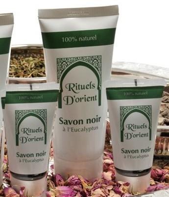 Rituels d'orient Savon noir à l'Eucalyptus (200 ml)