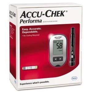 Accu-Chek Performa kit de glycémie sans code