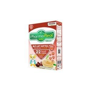 Pharmameal céréales halal blé lait dattes 200g