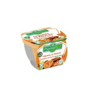 Pharmameal compotes halal légumes et viandes ( purée de légumes poulet) 120g