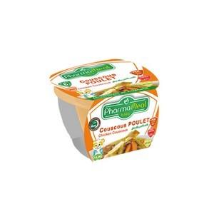 Pharmameal compotes halal légumes et viandes (couscous poulet) 120g