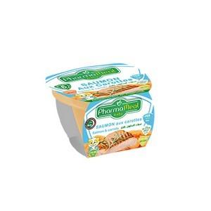 Pharmameal compotes halal légumes et viandes (saumon carottes) 120g