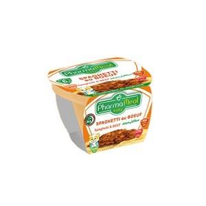 Pharmameal compotes halal légumes et viandes(spaghetti au bœuf) 120g