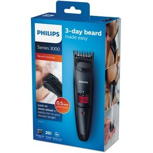 Philips Tondeuse à Barbe Séries 3000 QT4005