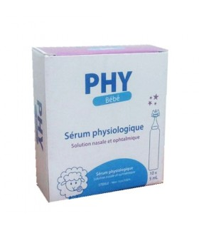 phy Sérum Physiologique (10 unidoses x 5ml)