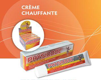 Physiodol crème chauffante 30g