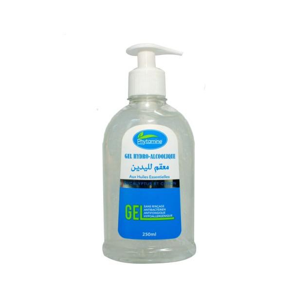 Phytamine Gel hydro-alcoolique aux huiles essentielles sans rinçage hypoallergénique 250 ml