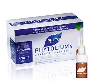 Phyto Phytolium 4 Concentré Anti-chute pour Homme (12x3.5ml)