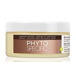 PhytoSpecific Bain de Crème Ultra-Réparateur- Cheveux abîmés et cassants 200 ml