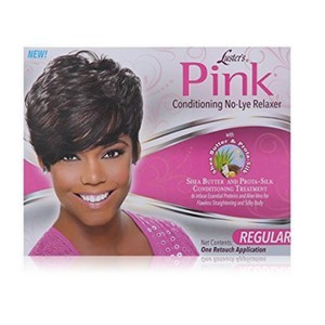 Pink Luster's Kit de défrisage sans lye pour le conditionnement de Pink Lustre, régulier
