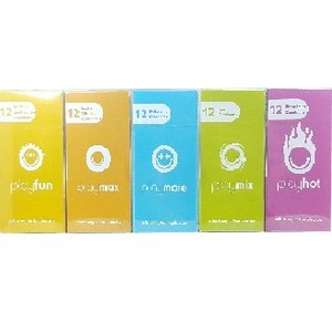 Playsure 12 préservatifs en latex naturel