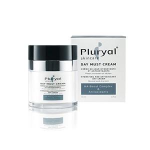 Pluryal Skincare Crème de jour Hydratante et Antioxydante (peaux normales et sèches) 50ml
