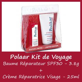 POLAAR KIT de Voyage ExtrêmeCare Visage - Crème et Baume