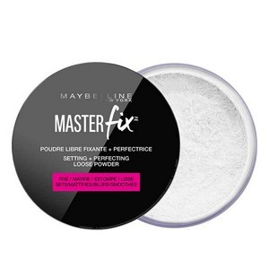 Maybelline New York Poudre Master Fix - Poudre libre Fixante+ Perfectrice 01 Transparent Réf : 3600531379254