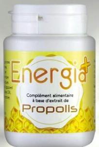 Energia+ Complément alimentaires à base d'extrait de Propolis 6O Gélule