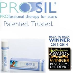 Biodermis Prosil stick en silicone pour enlever les cicatrices