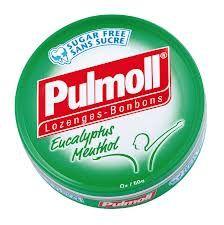 Bonbons Eucalyptus Menthol Pulmoll sans sucres