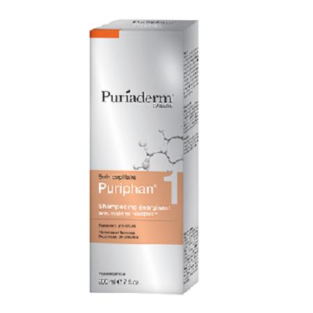 Puriphan 1 Shampooing Energisant, Hommes et Femmes 200 ml